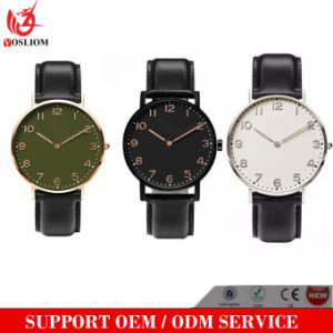OEM Hot Selling Arabic Numbers Quartz Watch Arabic Numerals Dial Wrist Watch for Men and Women pictures & photos