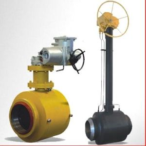 Gear Operated Fully Welded Trunnion Mounted Ball pictures & photos