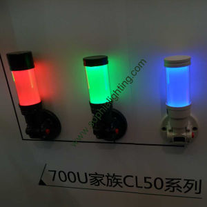 50mm Single LED Indicator Light with or Without Buzzer 7 Colors Available