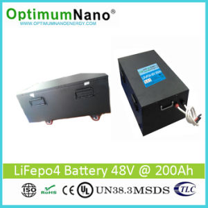 Deep Cycle 48V 200ah Li-ion Battery for Solar Energy System pictures & photos