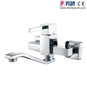 High Quality Single Lever Kitchen Mixer (F-19008) pictures & photos