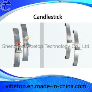 Modern Home Decoration Stainless Steel Candlestick Holder pictures & photos