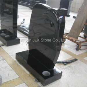 Black Granite European Dolphin Design Headstones pictures & photos