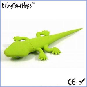 Green Lizard Shape USB Flash Drive (XH-USB-117) pictures & photos