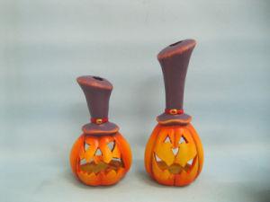 Halloween Pumpkin Ceramic Arts and Crafts (LOE2382-18z) pictures & photos