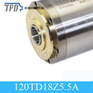 Bt30 5500W Automatic Tool Change CNC Water Cooled Four-Pole Asynchronous Spindle Motor pictures & photos