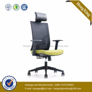 High Back Office Furniture Mesh Chrome Metal Base Office Chair (HX-YY009) pictures & photos