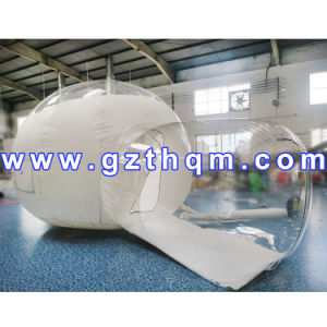 Outdoor Camping PVC Inflatable Clear Tent Bubble Room with Blower pictures & photos