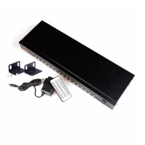 16 Ports HDMI Auto USB 2.0 Kvm Switch Keyboard Mouse Switcher pictures & photos