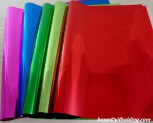Colored Metallized Polyester Film pictures & photos
