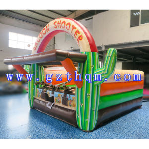 Inflatable Shooting Game Inflatable Shooter Game Inflatable Salon Shooter Inflatable Military Game Camping Game pictures & photos