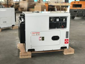Silent Diesel Generator 5000W with ATS pictures & photos