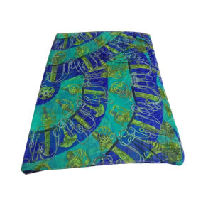 Polyester Printed Chiffon Scarf Beach Dress Green pictures & photos