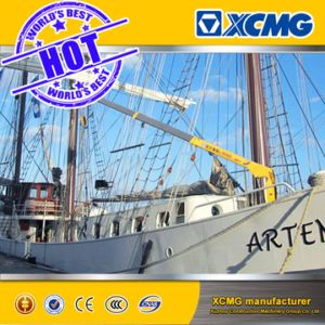 XCMG 2000kg Hydraulic Small Marine Deck Boat Lifting Crane pictures & photos