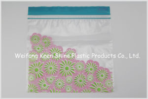Made of Plastic Material Soft Transparent Zip Lock Bag pictures & photos