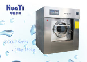 Industrial Machinery Equipment 50kg Capacity Washing Machine Electronic Use for Hotel pictures & photos