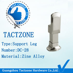Best Sells Toilet Partition Cubicle Fitting Zinc Alloy Support Leg pictures & photos