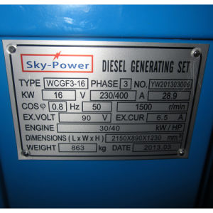 Famous Engine Diesel Electric Generator pictures & photos