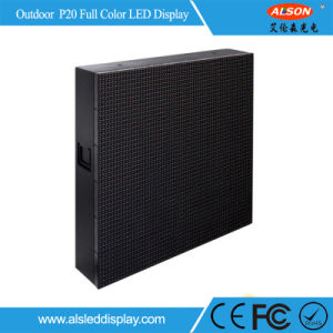 RGB P20 Full Color Outdoor Fixed Advertising Usage LED Display Board Wall pictures & photos