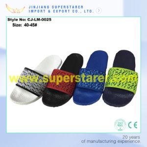 Men EVA Slipper, Custom Slipper for Men with Fabric Upper pictures & photos