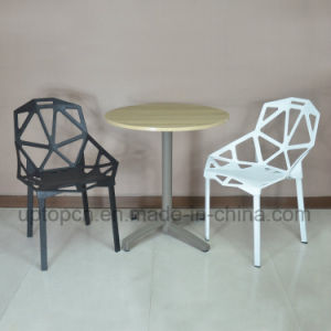 Modern Round Restaurant Furniture Plastic Table and Chair for Fast Food (SP-CT355) pictures & photos