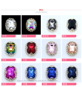 Rhinestone Banding Sew on Rhinestone Metal Claw Setting Crystals (SW-Oval/triangle/drop/square/rectangle) pictures & photos