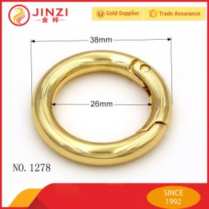 1 Inch Golden Metal Spring O Ring pictures & photos