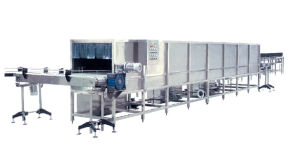 CE Shower Sterilizer Cooler in Juice Drink Filling Machine