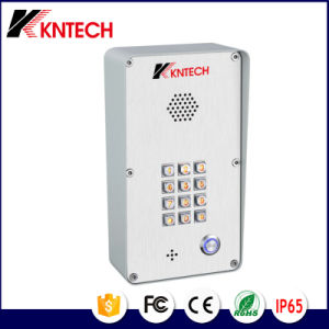 IP Intercom Phone Knzd-43 Stainless Vandal Security Door Access pictures & photos