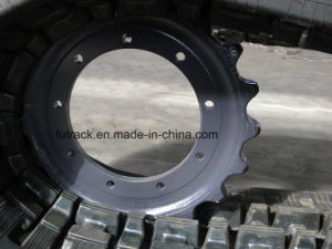 (650X110YM) Rubber Track Dumper Tracks pictures & photos