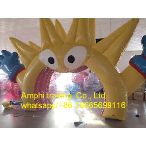 015 Customized Inflatable Arch, Golden Dragon Arch Door pictures & photos