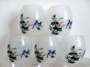 Waterslide Transfer Decals for Ceramic Glass Plastic Candle Mug Cup pictures & photos