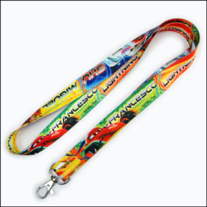 Best Cool Dye Sublimated/Heat Transfer Custom Lanyard with No Minimum Order pictures & photos
