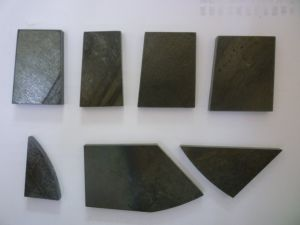 Tungsten Carbide Plates Welded on Tools for Plough Machine pictures & photos
