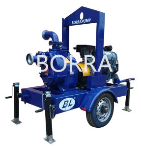 Air Cooling Trailer Mounted Self-Priming Diesel Engine Water Pump pictures & photos