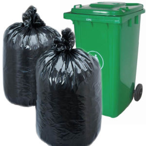 Black Plastic Garbage Bag for Household pictures & photos