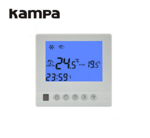 Weekly Programmable LCD Thermostat Used for Electric/Water Floor pictures & photos
