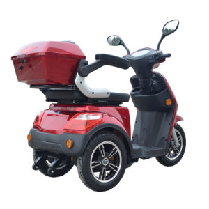 Electric Motorcycle for Old and Disabled People 24V Battery Tdr24k616 pictures & photos