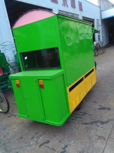New Fast Food Electric Vending Tricycle Food Selling Car Wmc800-18 pictures & photos
