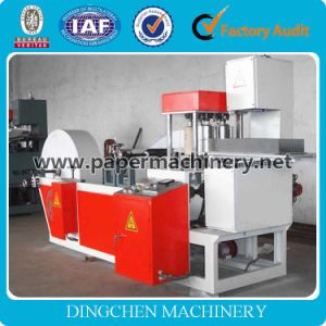 Automatic Professional Paper Slitting and Rewinding Machinery Processing Type Sanitary Napkin Machine pictures & photos