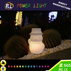 LED Christmas Lights Snow Man Santa Claus Table Lamp pictures & photos