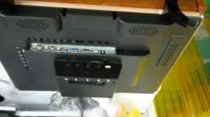 Solar Powered DC LCD TV with Lights for Africa pictures & photos