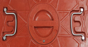 Ce En124 Passed SMC Manhole Cover for Saudi Arabia pictures & photos