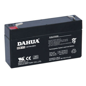 6V 7ah VRLA Sealed Lead Acid Maintenance Free UPS Battery pictures & photos