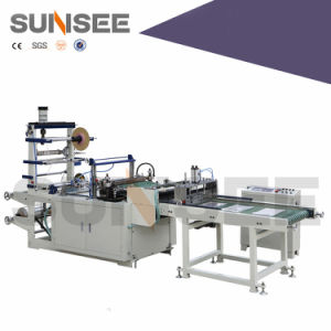 Hot Seal Bag Making Machine with Tape and Hole Punch pictures & photos