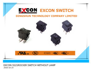 Rocker Switch Ss21 Series Copier Switch pictures & photos