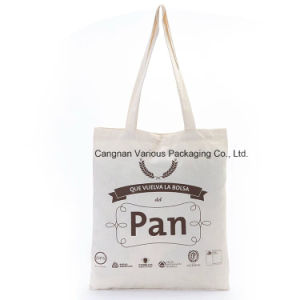 Custom Shoulder Promotional Shopping Canvas Cotton Tote Bag pictures & photos