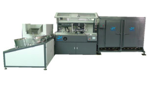 Universal Screen Printing Machine with Umscrabler and IR Drying Syterm pictures & photos