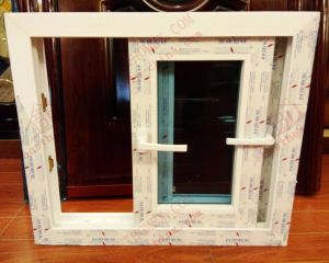 UPVC Sliding Window with Transmission Lock (BHP-SW07) pictures & photos