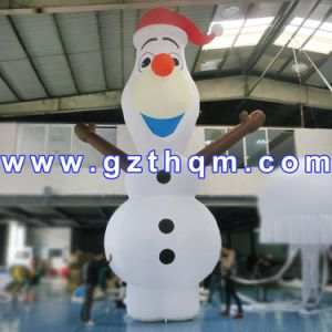 Happy Inflatable Christmas Snowman/Event Decoration Christmas Inflatable Snowman pictures & photos